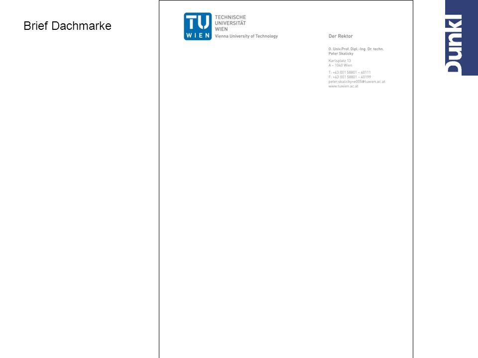 Brief Dachmarke