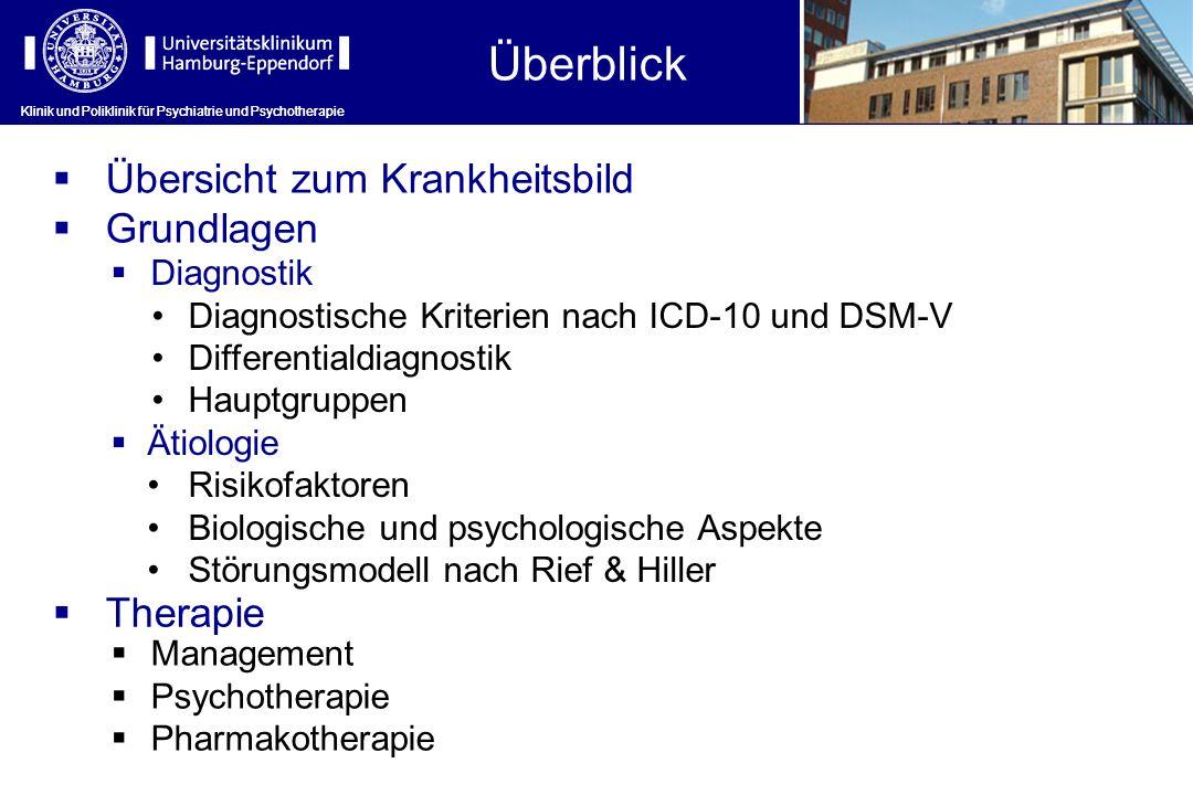 Klinik und Poliklinik für Psychiatrie und Psychotherapie Überblick Klinik und Poliklinik für Psychiatrie und Psychotherapie Diagnostik Diagnostische K
