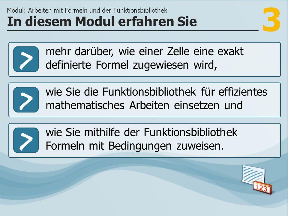 4 Sie erfassen Ihre Schulnoten in einem Tabellen- kalkulationsprogramm.