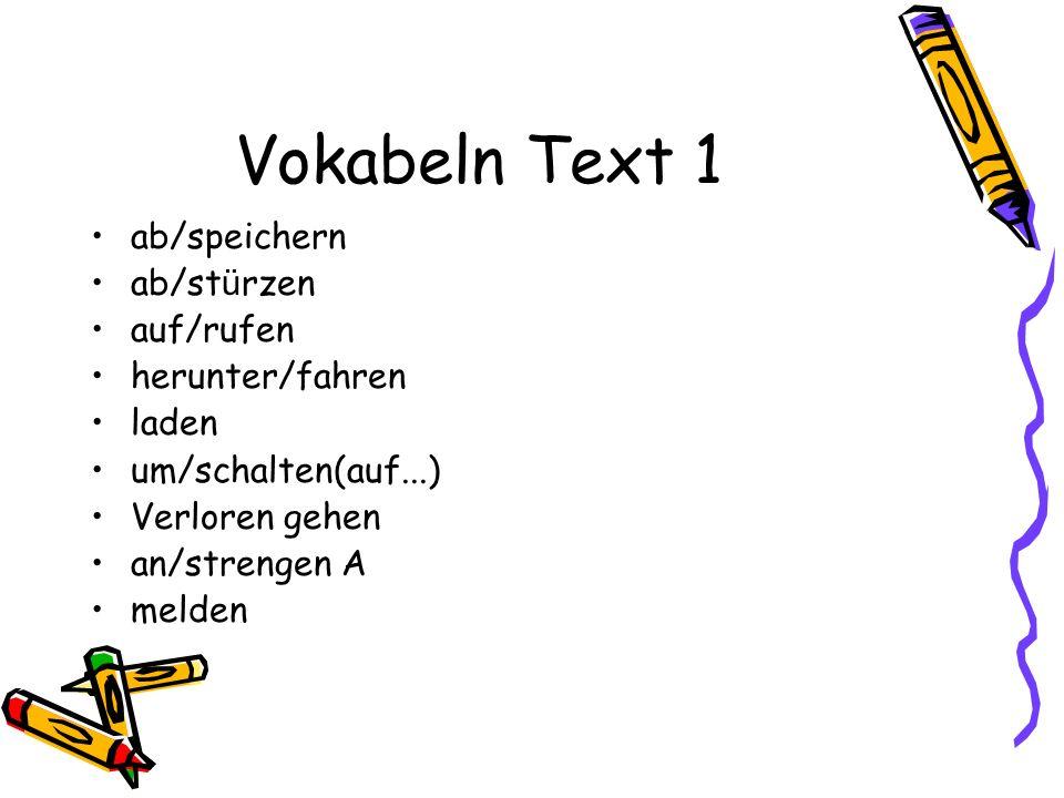 Vokabeln Text 3 f Professur her/stellen Psychologisch f Sucht nach...