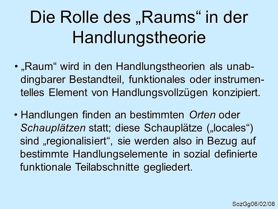 Die Theorie der Strukturation (A.