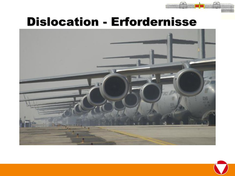 Dislocation - Erfordernisse