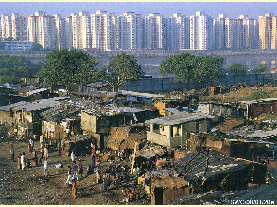 Räumliche Disparitäten SWG/08/01/20b Das Beispiel Mumbai (Bombay) SWG/08/01/20e