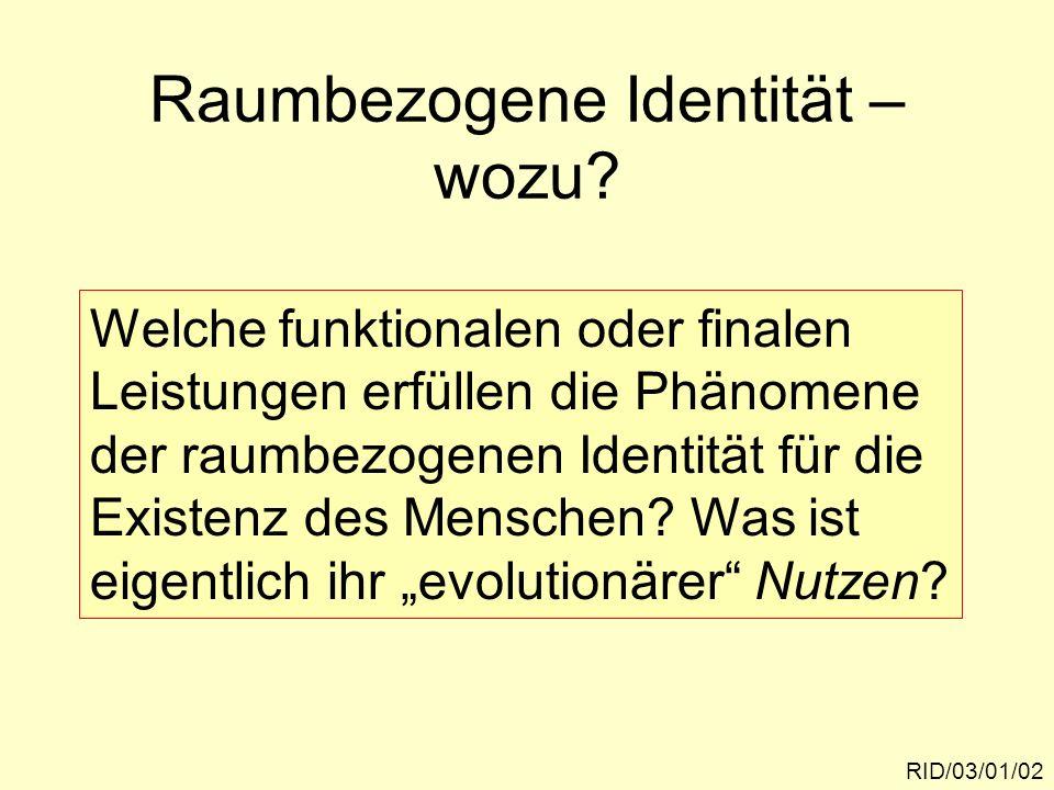 RID/03/01/13 Differenz-Theorem der autopoi- etischen Systemtheorie: Differenzwahrnehmung und der Umgang mit Differenzen sind die Voraussetzung der Bildung und Stabilisierung von Identität.