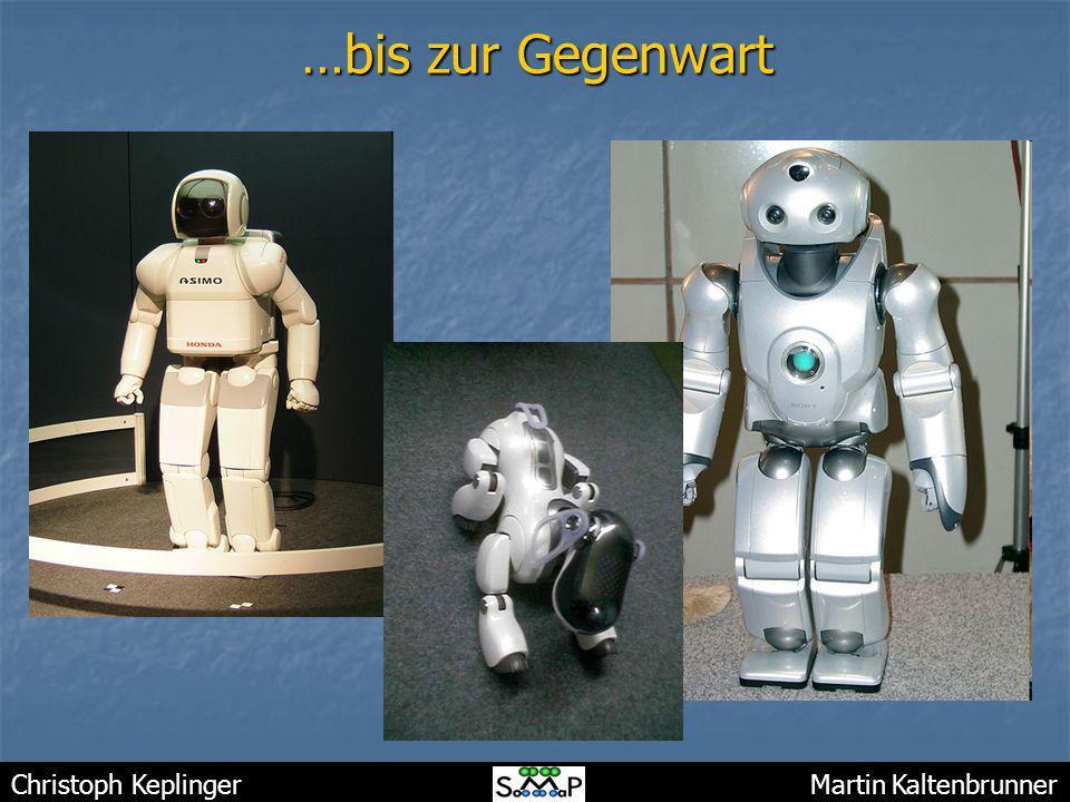 Christoph Keplinger Martin Kaltenbrunner …bis zur Gegenwart