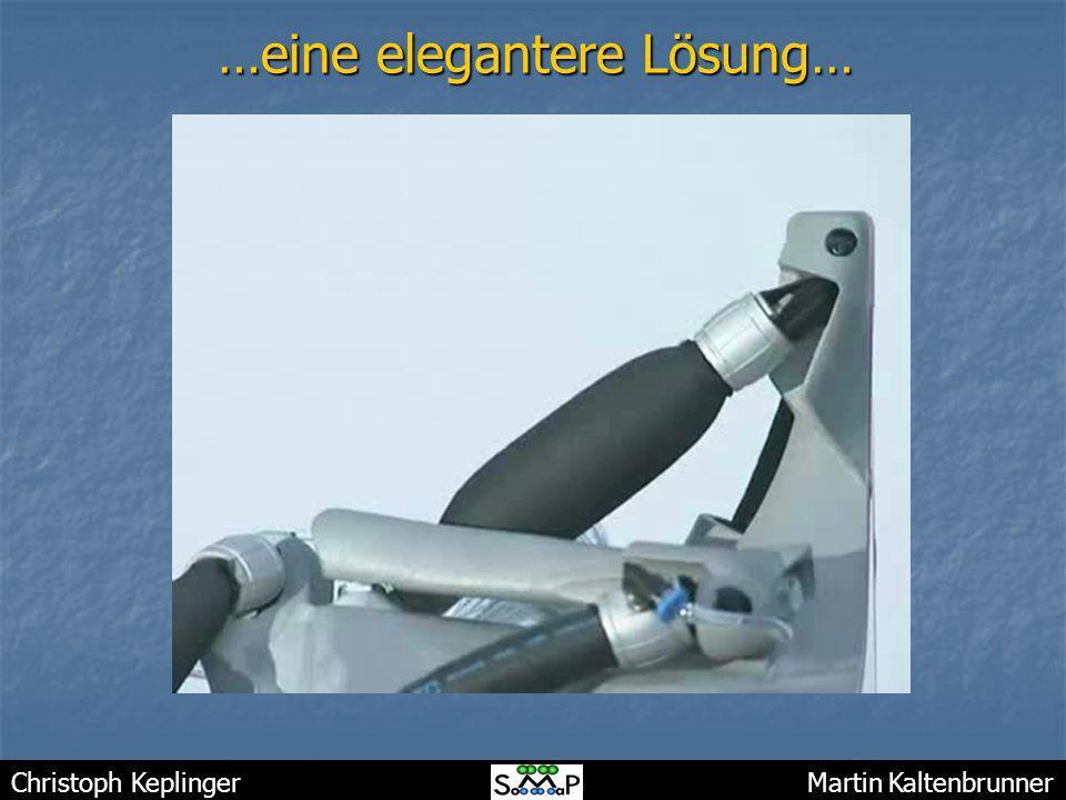 Christoph Keplinger Martin Kaltenbrunner …eine elegantere Lösung…