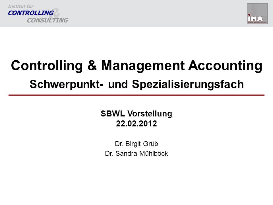 22 Kontakt Institut für Controlling und Consulting –Managementzentrum, 4.