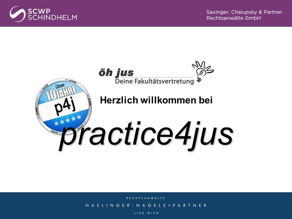 practice4jus Herzlich willkommen bei