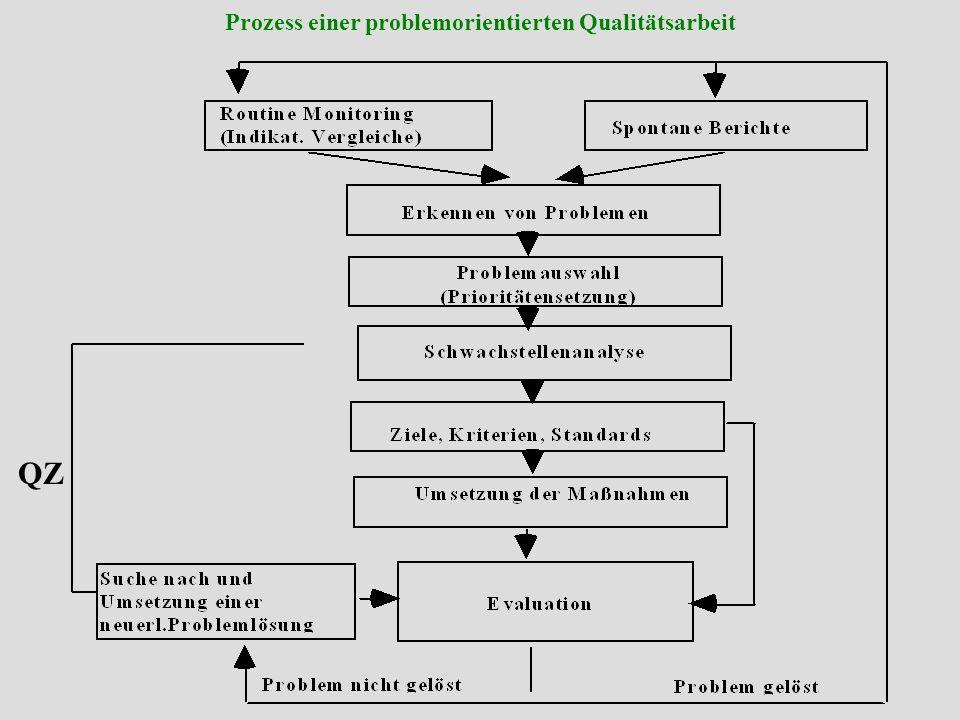 Institut für Pflege- und Gesundheitssystemforschung, Universität Linz Seminar: Methoden und Techniken interne QS Vorteile systematischer QA Beseitigung von Schwachstellen Stärkung d.
