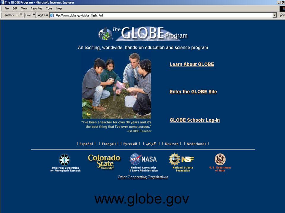 www.globe.gov13 www.globe.gov