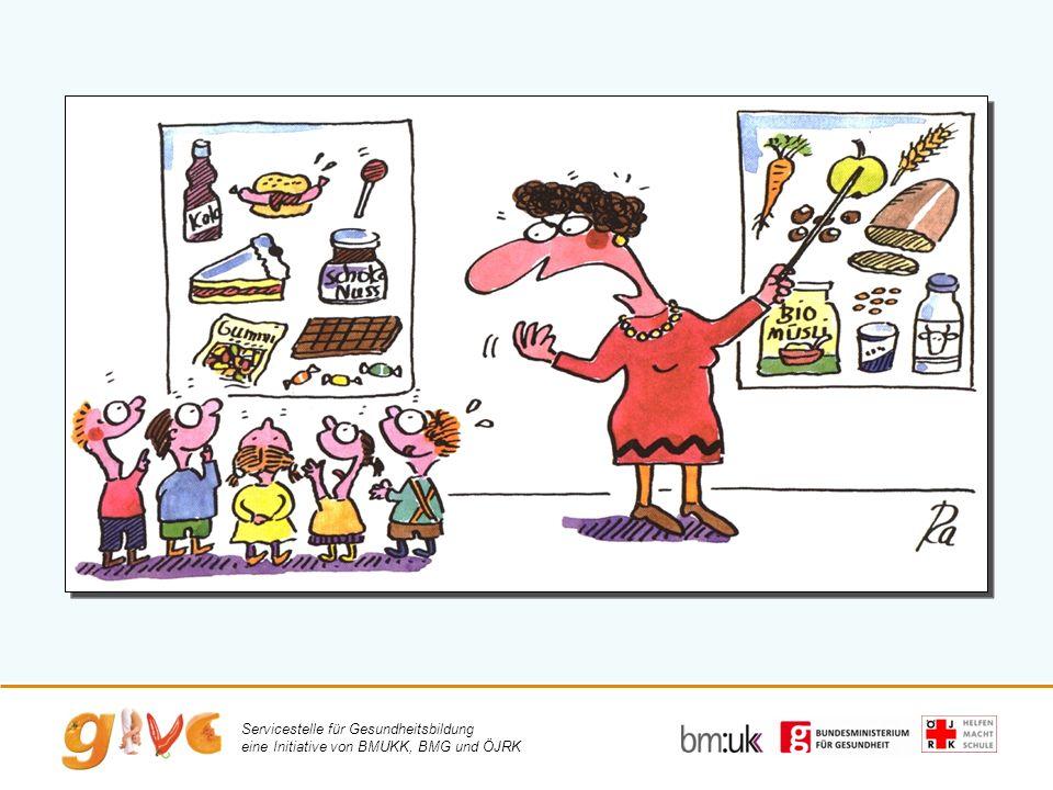Servicestelle für Gesundheitsbildung eine Initiative von BMUKK, BMG und ÖJRK