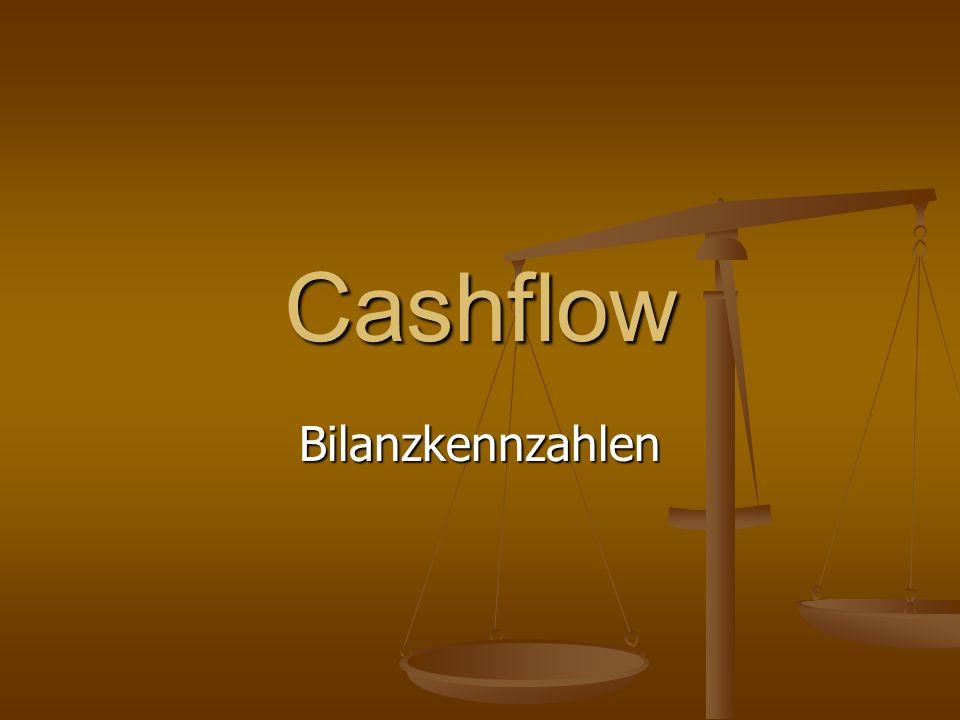 Cashflow Bilanzkennzahlen