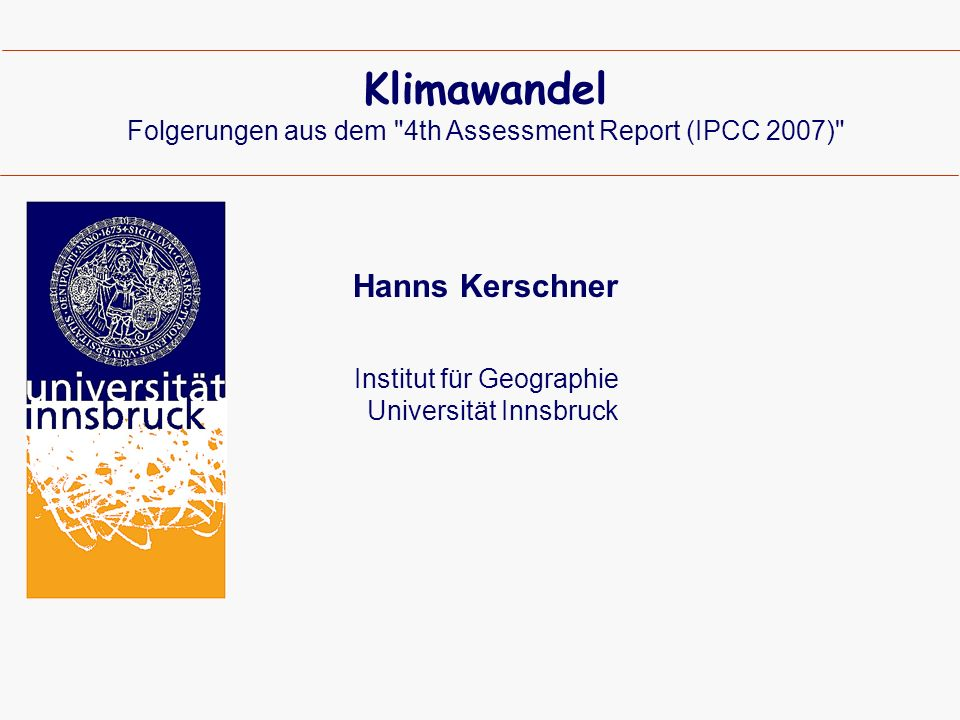 IPCC 2007: Die Antriebskräfte IPCC 2007 ©kaser