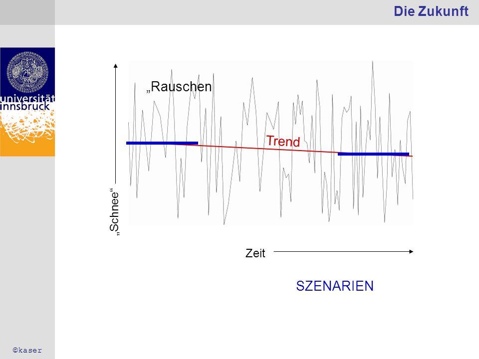 Die Zukunft Rauschen Trend Zeit Schnee SZENARIEN ©kaser