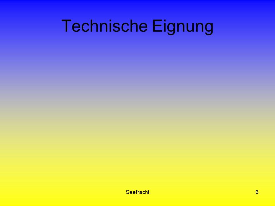 Seefracht6 Technische Eignung