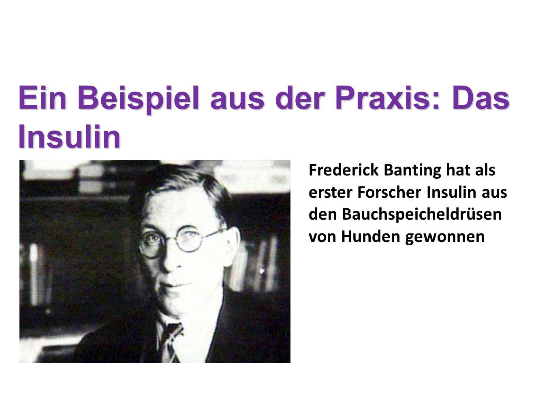 Gegen die Zuckerkrankheit gab es Anfang des 20. Jahrhunderts kein anderes Mittel als Hungern. Ein Beispiel aus der Praxis: Das Insulin