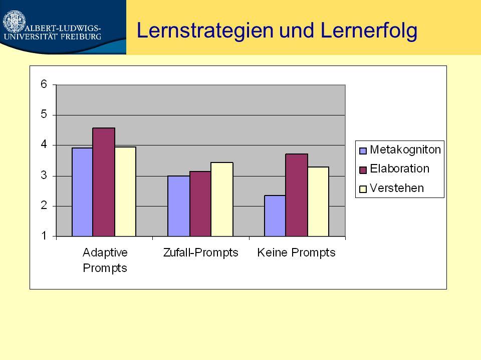 Metakognition = Rubbish.Nückles, Hübner & Renkl (2009).