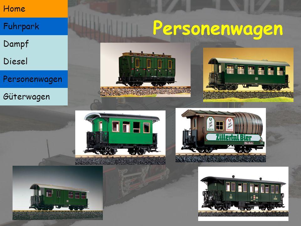 Diesellokomotiven Dampf Diesel Personenwagen Güterwagen Home Fuhrpark