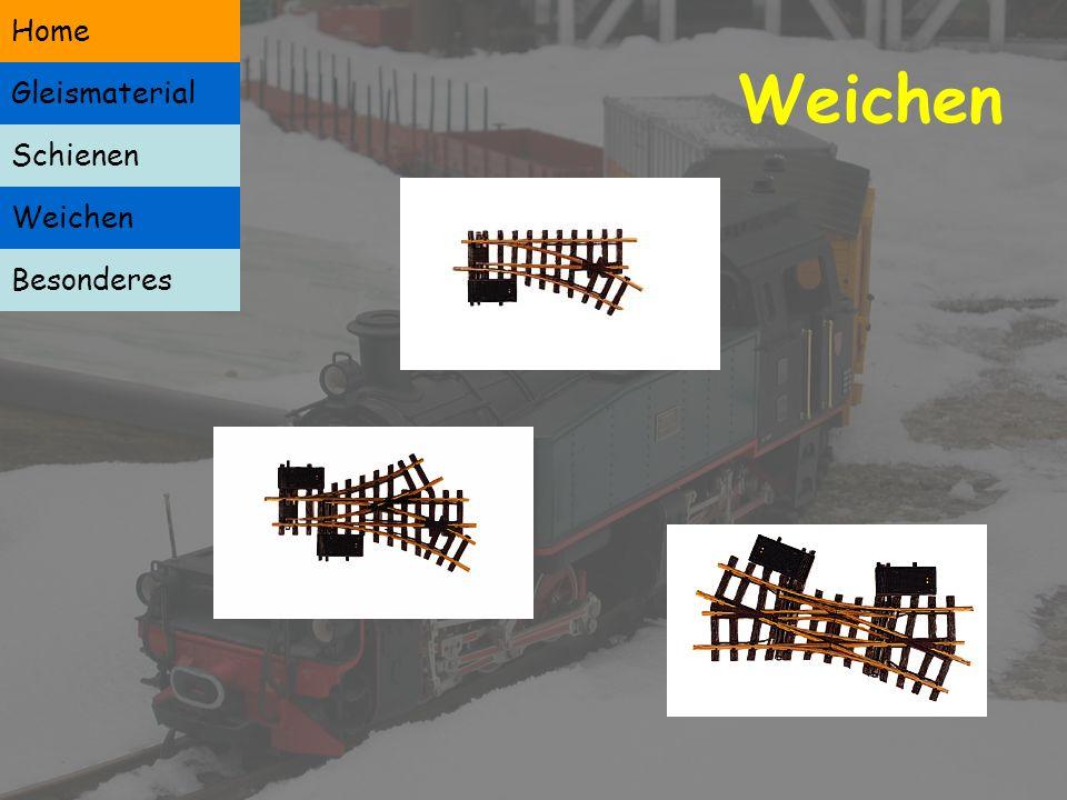 Schienen Weichen Besonderes Home Gleismaterial