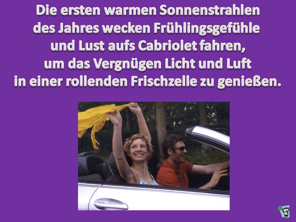 Mit Cabriolet oder kurz Cabrio wird die Karosseriebauform eines Pkw bezeichnet, dessen Dach durch Zurückklappen geöffnet werden kann.