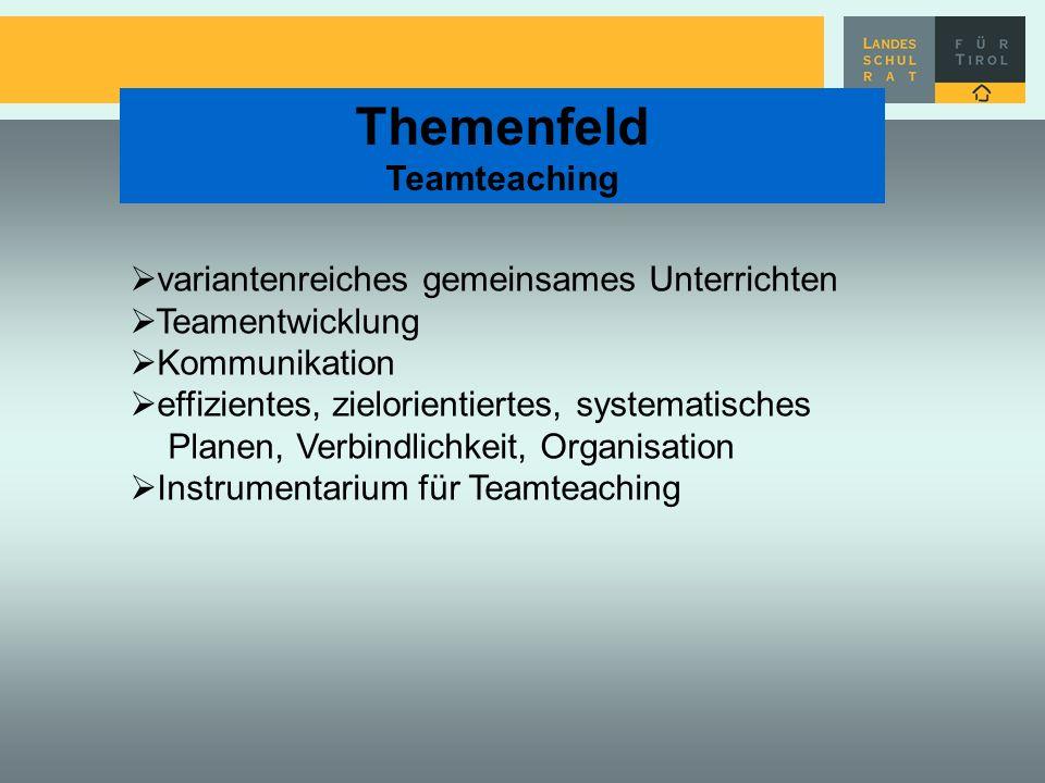 variantenreiches gemeinsames Unterrichten Teamentwicklung Kommunikation effizientes, zielorientiertes, systematisches Planen, Verbindlichkeit, Organis