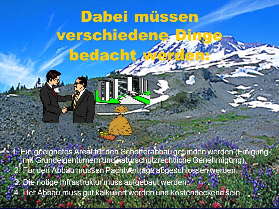 © by zangerl und baumgartner2 Dabei müssen verschiedene Dinge bedacht werden: 1.