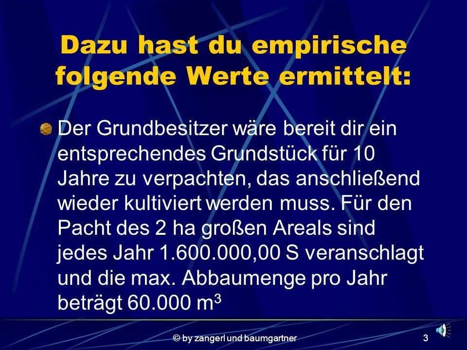 © by zangerl und baumgartner13 Gesucht sind:.4.