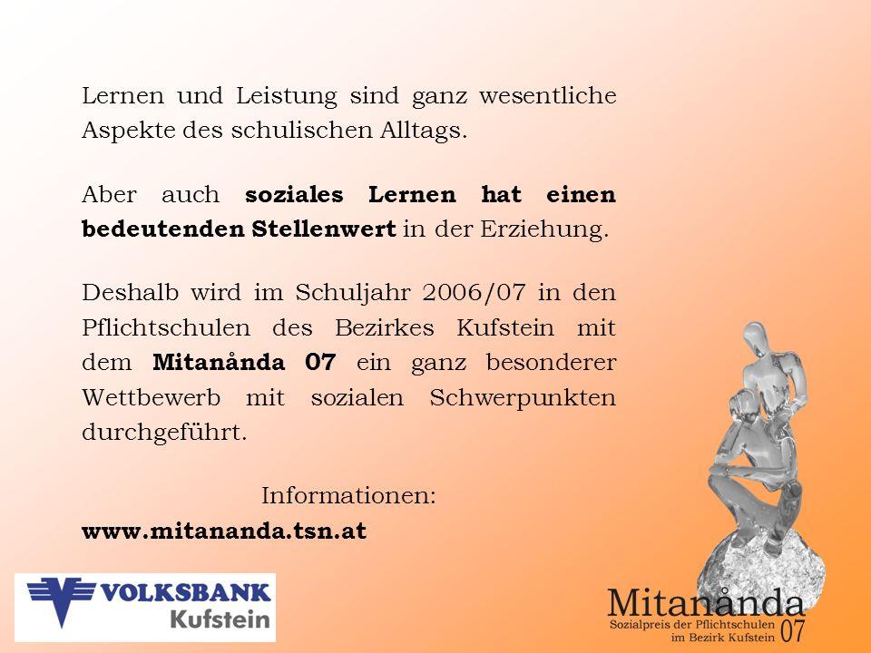 Informationen und Download der Formulare: www.mitananda.tsn.at