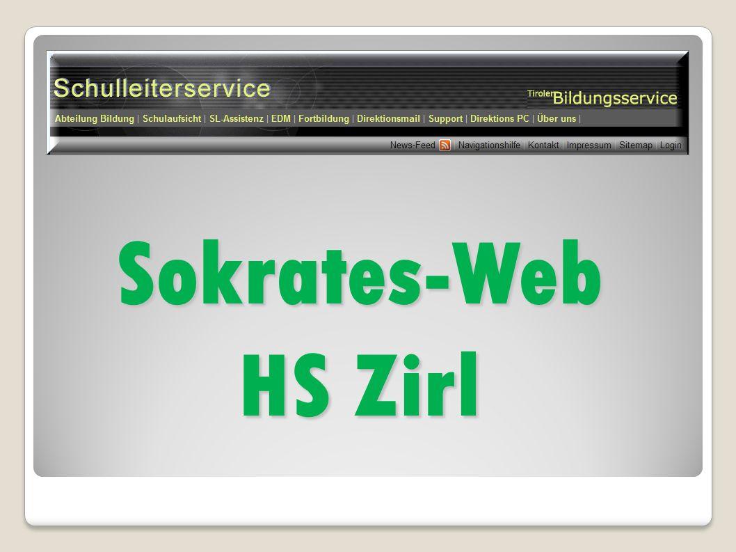 Sokrates-Web HS Zirl
