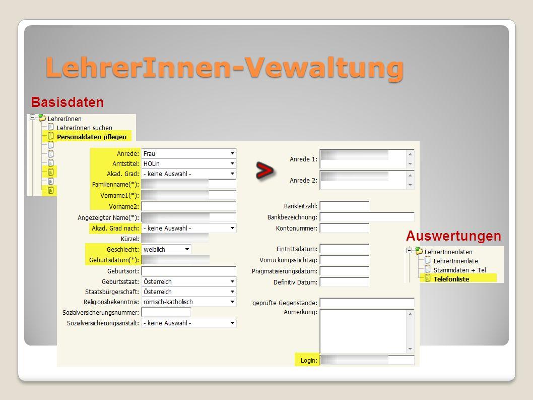 Auswertungen Leistungsgruppen inkl.