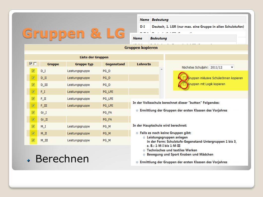 Dynamische Suche LSR-Statistik Schnittstellen Schülersuche (wie SJ-Beginn) Statistiken TSNUser-Export