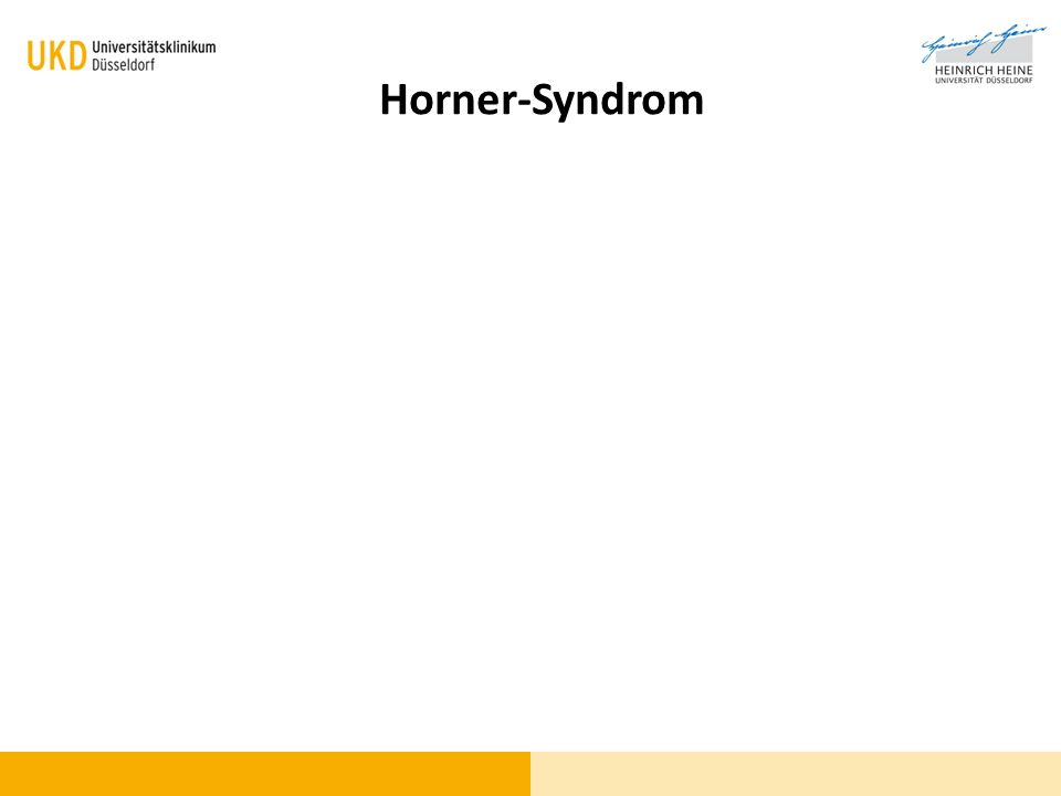 Blickdiagnose? Horner-Syndrom