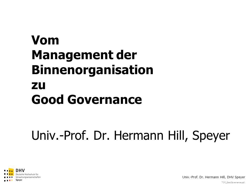 TOP_GoodGovernance.ppt Univ.-Prof.Dr.
