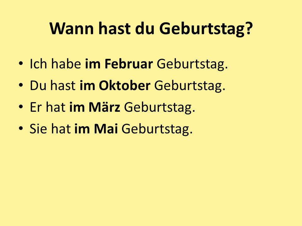 In welchem Monat ist dieser Feiertag? (In which month is this holiday?) a. b. c. d. e. f.