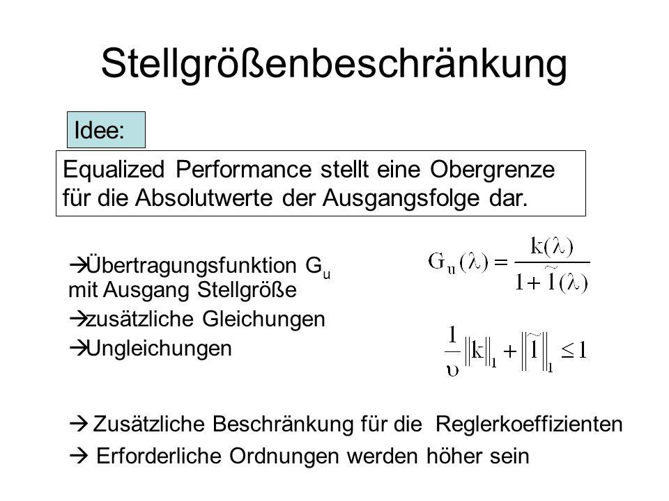 Pol- und Nullstellenlage des geschlossene Kreises Reglerordnung = 8