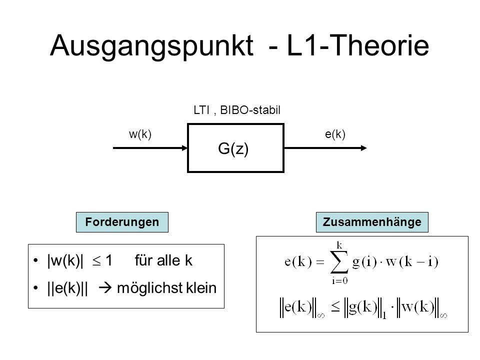 Entwurf superstabiler Regelkreise Betreuer Prof. A.Hofer Institut für Regelungstechnik Hauser Helmut