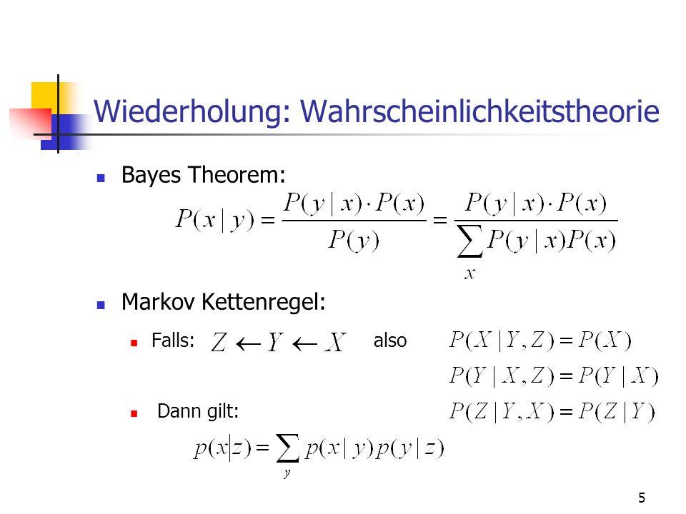 6 Wiederholung: Informationstheorie Informationsgehalt: Entropie: Conditional Entropy