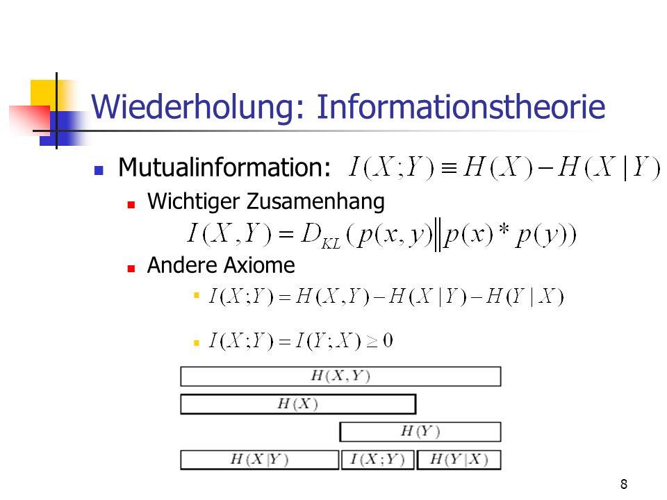 9 Teil 1: Rate Distortion Theorie Grundaussage:...