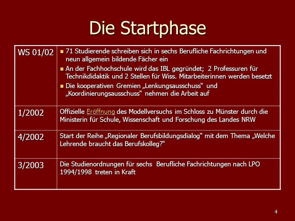 15 Master of Education Lehramt BK nach Bachelor Berufliche und allgemeine Bildung (BAB) Master Ed.
