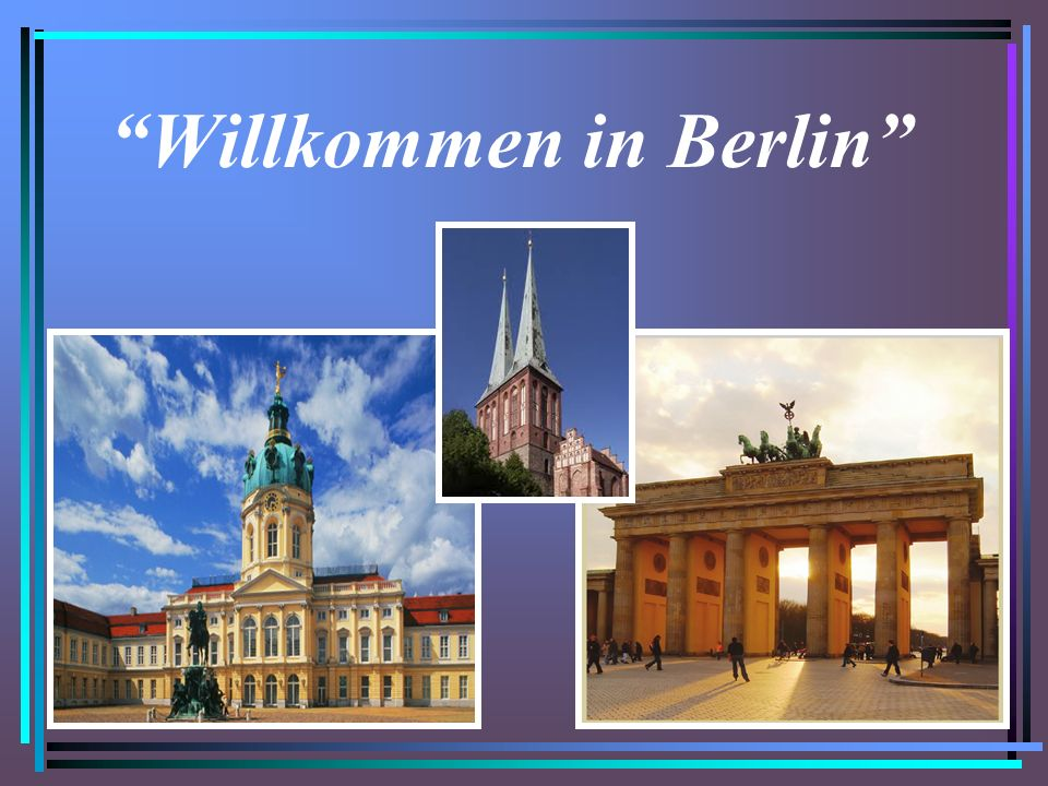 ist das Wahrzeichen der Stadt Berlin Das Brandenburger Tor ist das Wahrzeichen der Stadt Berlin