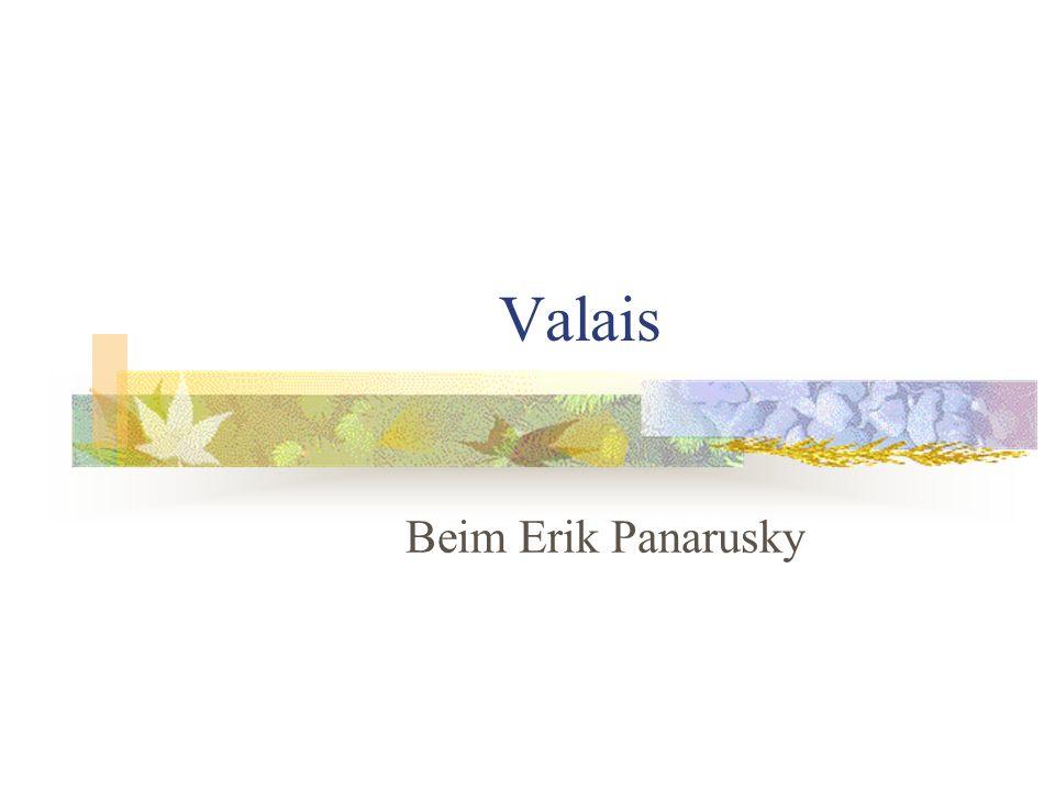 Valais Beim Erik Panarusky