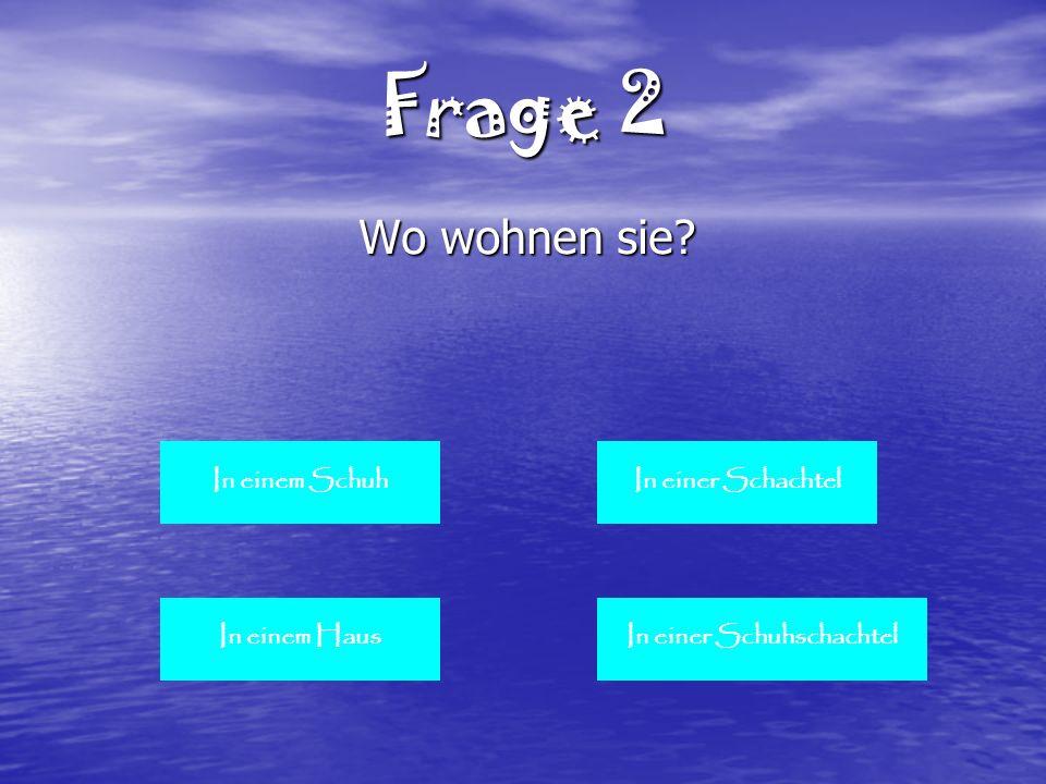Frage 9 Wie heissen sie zum Nach Name Scheurer Schauer Scheuer Schuh