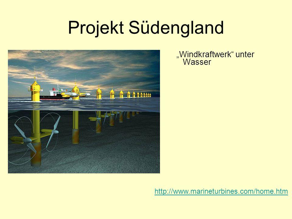 Projekt Südengland Windkraftwerk unter Wasser http://www.marineturbines.com/home.htm