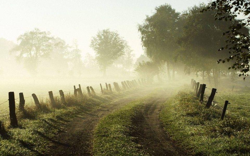 Friedlich ist die Welt am Morgen