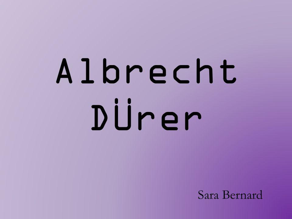 Am 21.Mai 1471 in Nürnberg geboren.