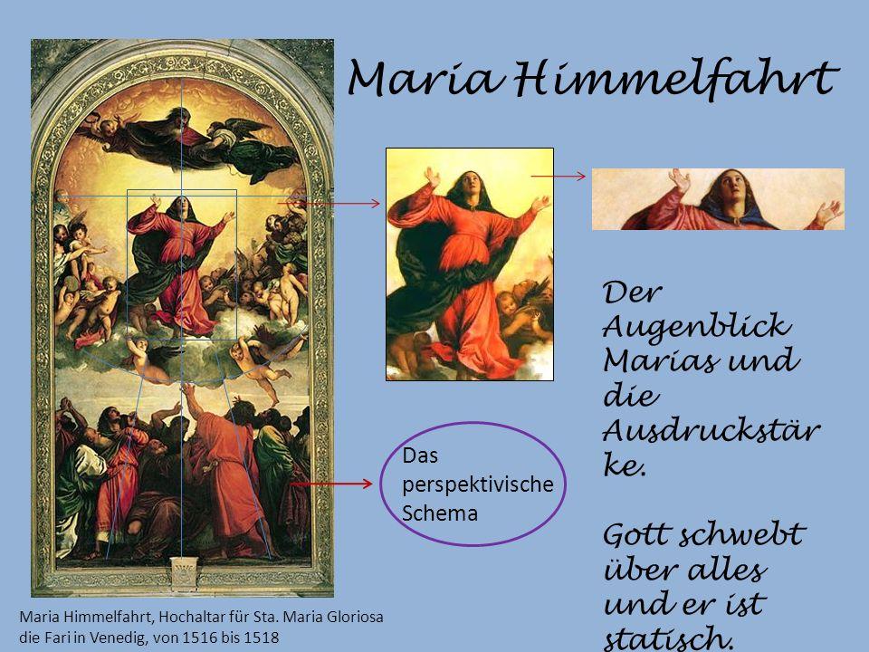 Maria Himmelfahrt Maria Himmelfahrt, Hochaltar für Sta.