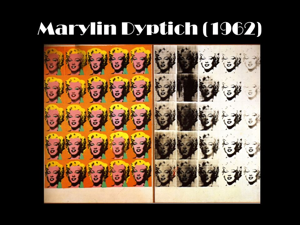 Marylin Dyptich (1962)