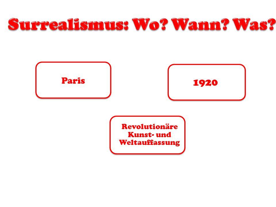 Paris 1920 Revolutionäre Kunst- und Weltauffassung