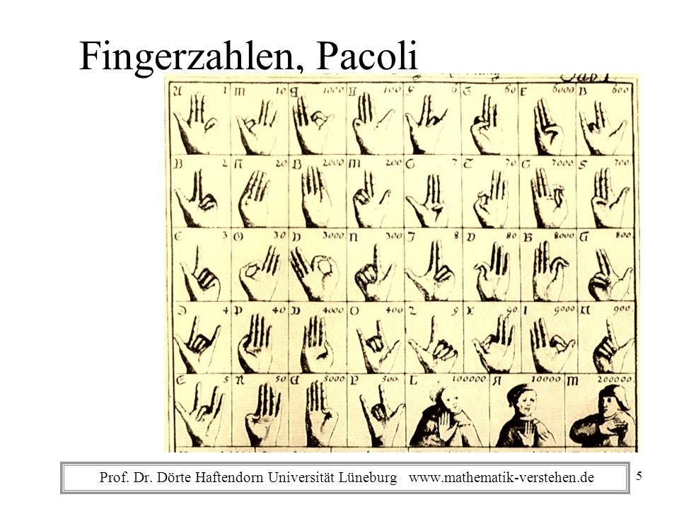 Fingerzahlen, Pacoli 5