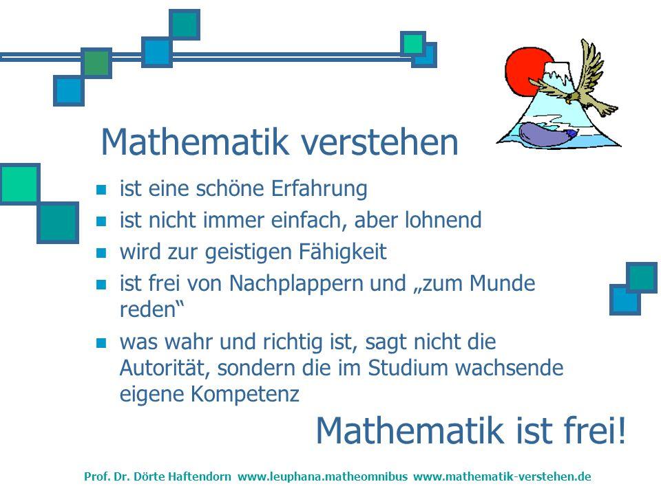 Mathematik Lehren ist eine schöne Aufgabe ist wahrhaft befähigend erfordert Souveränität damit man die Lernenden versteht damit man den Lehrstoff versteht damit man Lehren und Lernen weiterentwickeln kann...darum wollen Sie studieren.